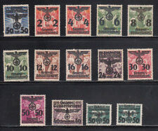 Poland Stamps Issued Under German Occupation Overprinted and Surcharged