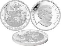 2013 $20 1 oz .9999% Pure Silver Coin 300th ANNIVERSARY OF LOUISBOURG