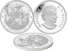 2013 $20 1 oz .9999% Pure Silver Coin 300th ANNIVERSARY OF LOUISBOURG