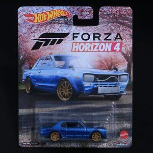 Hot Wheels - Forza Horizon 4 - Nissan Skyline H/T 2000 GT-X - Premium -Brand New