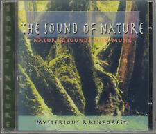 "THE SOUND OF NATURE""NATURAL SOUND WITH MUSIC"" CD SIGILLATO MYSTERIOUS RAINFOREST"