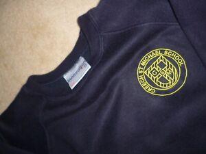 Creech St Michael Primary School - Navy Sweatshirt. 9/10.