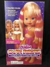 Vintage Lil Miss Candi Stripes Doll Mattel 1993 13 Inch Open Box 10780