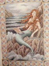 STUNNING Teresa Wentzler MERMAID counted X stitch KIT  MPN 113865