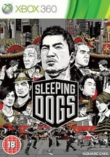 Sleeping Dogs (Xbox 360, 2012) PAL Disc Mint Brand New Case J1L