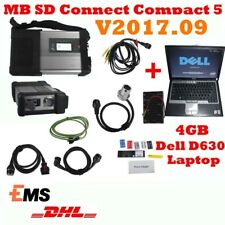 OBD2 Auto for MB Star SD Connect C5+HDD with Software 09/2017 with 4GB Dell D630