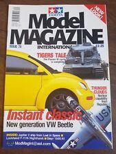 Tamiya Model Magazine International Issue 70 October 1998 Panzer VI VW Beetle