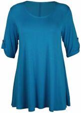 Maglie e camicie da donna maniche a 3/4 blusa viscosa