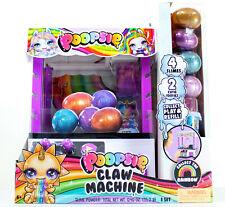 Poopsie Claw Machine w/ 4 Slimes & 2 Cutie Tooties