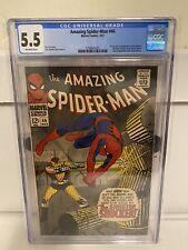 Amazing Spider-Man #46 CGC 5.5 Origin & 1st the Shocker Marvel Comics 1967 MORE!