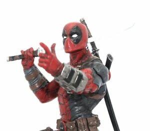 X-Men 1/6 Scale Statue Figure Deadpool 26cm PVC New In Box Kids Gift