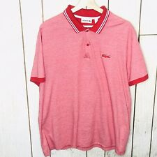 Used Lacoste polo/Red/XXL FR7/ Item# M01