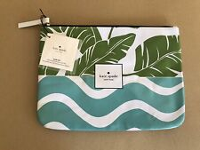 NEW Kate Spade Truly Collection Floral Make Up Cosmetics Multicolor Pouch
