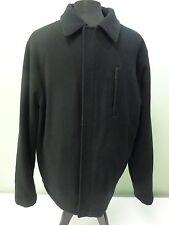 Kenneth Cole Reaction Jacket Coat Wool Blend Lined Full Zip Men's Size XL/TG