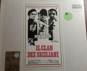 OST-IL CLAN DEI SICILIANI-ENNIO MORRICONE* CD BRAND NEW  SEALED NUOVO SIGILLATO