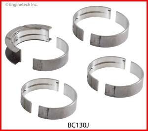 Enginetech Crankshaft Main Bearing Set BC130J.25