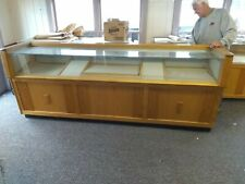 Your choice of Three Vintage Solid Hardwood & Glass Jewelry Display Cases