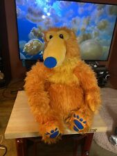 "Disney Bear In The Big Blue House Bear Plush Huge ~ 18 - 20 "" Stuffed Jim Henson"