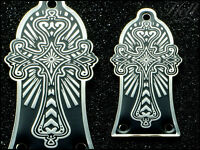 CROSS Brass Truss Rod Cover. Fits most Epiphone Les Paul, SG and many others.