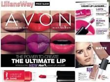 Avon MARK Liquid Lip Lacquer Lipstick Matte, Shine or Samples~PRICES SLASHED