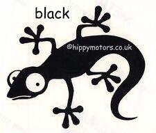 Black Gecko Lizard car sticker window decal caravan VW camper van transfer