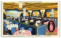 Mid-1900s Riviera Restaurant, San Francisco, CA Postcard
