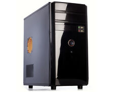 ITEK PIRATE - MIDI TOWER - CASE PER PC 500W NERO mATX Nuovo DESKTOP COMPUTER