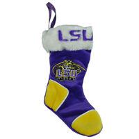 NCAA Louisiana State LSU Tigers Christmas Holiday Hanging Mini Sock Stocking