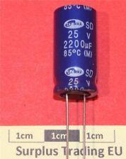 Samwha SD Radial Electrolytic Capacitor 2200µF 25V 85°C (Pk of 2)