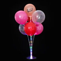 New LED Balloons Column Stand Rack With 7 Tubes Wedding Party Balloon Support