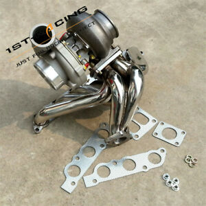 GT45 Turbo A/R 0.70 /0.84+Exhaust Manifold For Toyota Supra Lexus 2JZGE I6 3.0L