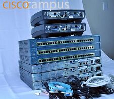 Cisco Premium Home Lab Kit for CCENT - CCNA Routing Switching 8 x UNITS
