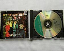 Paul HINDEMITH / Huseyin SERMET Ludus tonalis-Suite 1922 CD AUVIDIS VALOIS (1996