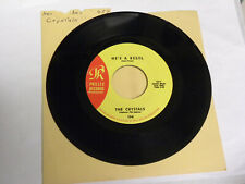 He's A Rebel by The Crystals (Philles TCY-7 very good 45 record)