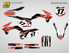 MX Graphics Stickers Kit Decals KTM 85 2013-2016