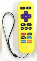 Newest Replacement Remote for ROKU 1/2/3/4 Express/Premiere/Ultra Yellow