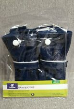 Top Paw Navy Hard Sole Dog Booties Size Large NEW 1 set of 4 pcs.