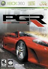XBOX 360 PGR Project Gotham Racing 3 Video Game Online Multiplayer Driver Action