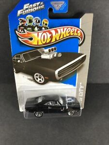 2013 Hot Wheels #3 HW City- Fast & Furious 1970 Dodge Charger R/T