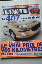 AUTO JOURNAL 638 MERCEDES CLK GOLF 407 BMW 645 PORSCHE 911 FIAT IDEA SCENIC 2004