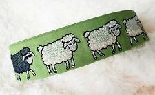 Sheep Design. 40mm House Collar , Greyhound , Lurcher, Saluki.