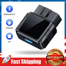 OBD2 Scanner Bluetooth Car Diagnostic Trouble Codes for Smartphone with Free App