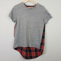 ZARA | Womens Tartan Back Top [ Size M or AU 12 or US 8 ]