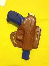 Leather Holster For CZ 75 Right Hand Draw (#312 Brn)
