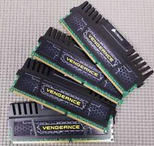 Corsair Vengeance 32GB (4x8GB Kit) 240-Pin DDR3 RAM Memory 1600 MHz
