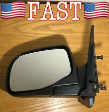 Textured Black Manual Driver Left Folding Side Mirror for 1998-2005 Ford Ranger