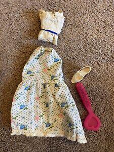 "Vintage Candi 18"" Fashion Doll Original Outfit Shoe Brush 1979 Mego Skirt Top"