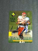 Trent Dilfer Rookie Auto Buccaneers Bulldogs 1994 Classic Pro Line Live /2680