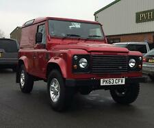 2013/63 Land Rover 90 Defender 2.2TD DPF Hard Top Red