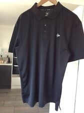 BLACK NEW L DUNLOP GOLF SHIRT